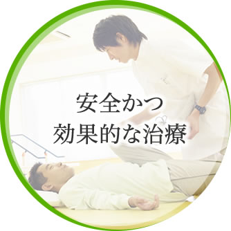 安全かつ効果的な治療