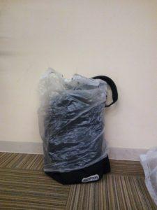 防水カバン(ゴミ袋)3
