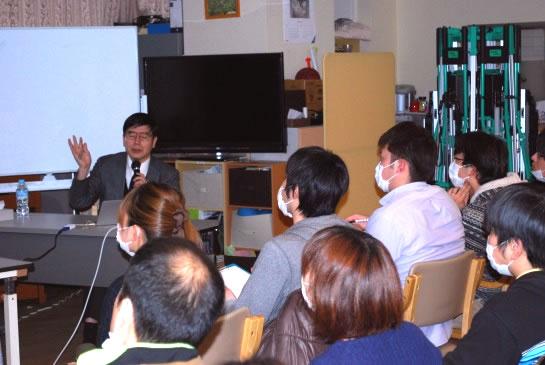 2013年3月促通反復療法の講義・実技指導